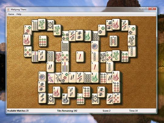 Скачать Mahjong Titans для Win 7