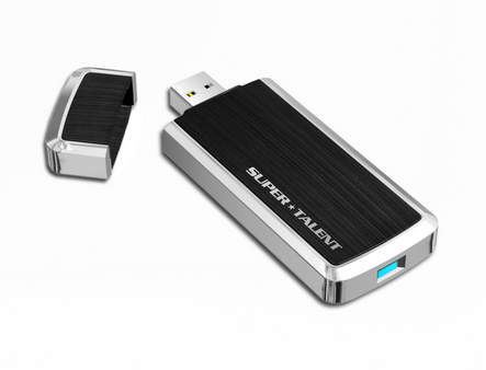Флэшка RAIDDrive USB 3.0 от Super Talent