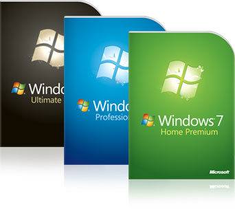 Microsoft Windows 7 Home Premium Family Pack
