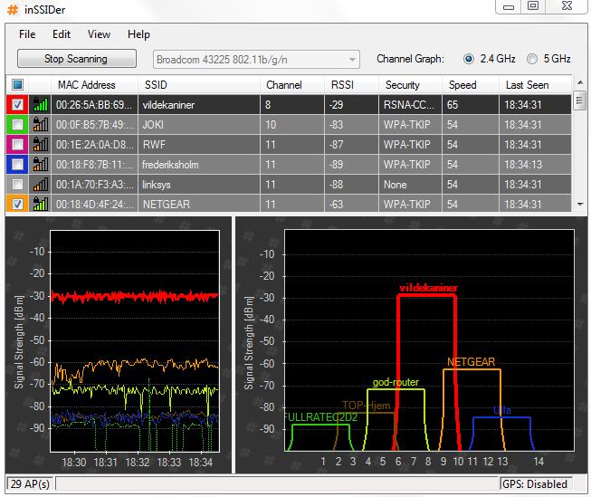 программа для проверки скорости wifi