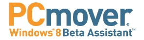 PCmover Windows 8 Beta Assistant